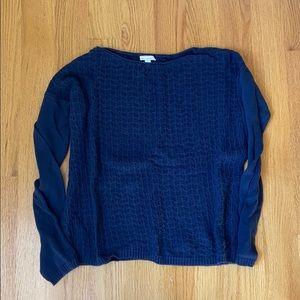 Navy Gap sweater, size small